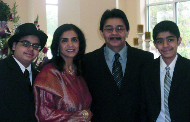 Dr. Habib and Family